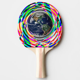 Earth Vibes Ping-Pong Paddle