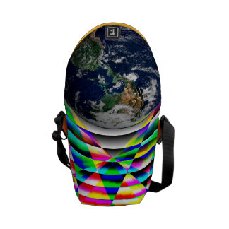 Earth Vibes I by Kenneth Yoncich Courier Bag