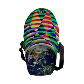 Earth Vibes II by Kenneth Yoncich Courier Bag