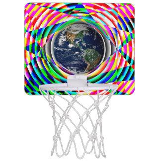 Earth Vibes Mini Basketball Backboards