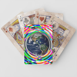 Earth Vibes Playing Cards Bicycle Playing Cards
