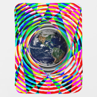 Earth Vibes v1 Baby Blanket