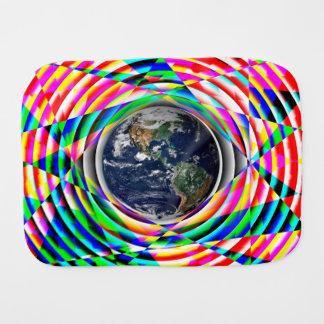 Earth Vibes v2 Burp Cloth