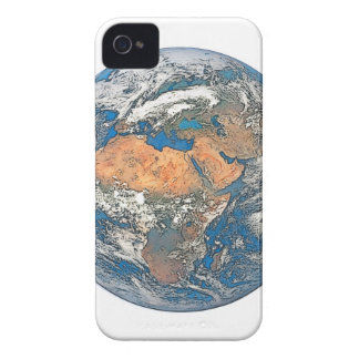 Earth View focused on the Cradle of Civilization Case-Mate iPhone 4 Case