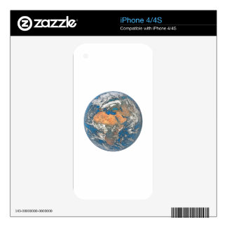 Earth View focused on the Cradle of Civilization Decal For The iPhone 4