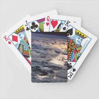 Earth Viewed from a Satellite Bicycle Playing Cards