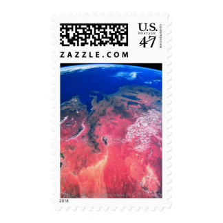 Earth Viewed from Space 2 Postage