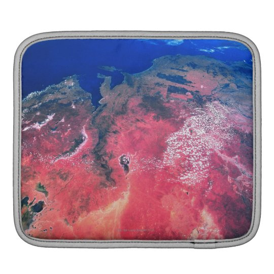Earth Viewed from Space 2 Sleeve For iPads