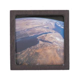 Earth Viewed from Space Jewelry Box