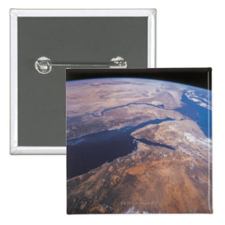 Earth Viewed from Space Pinback Button