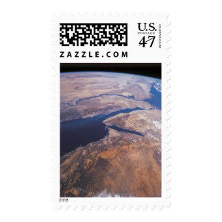 Earth Viewed from Space Postage