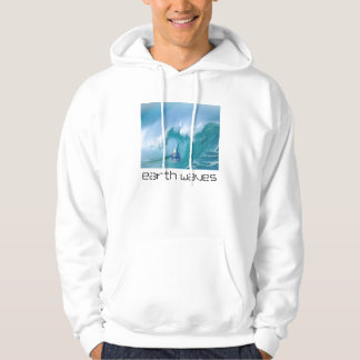 earth waves hooded sweatshirt