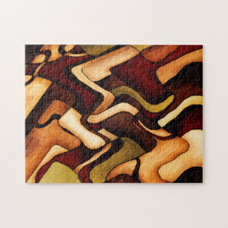 Earth Weave Fine Abstract Digital Puzzles