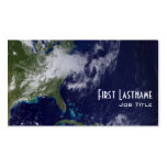 Earth - Western Hemisphere Double-Sided Standard Business Cards (Pack Of 100)