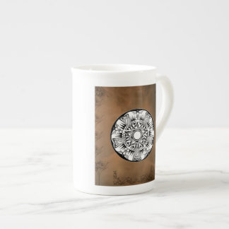 'Earth Wheel' Tea Cup