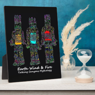 Earth Wind and Fire Plaque