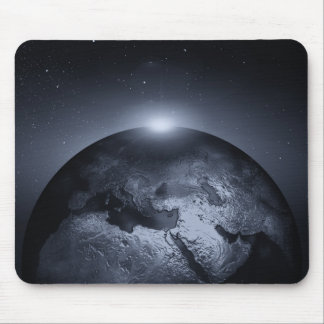 Earth With Special Effects Mousepad