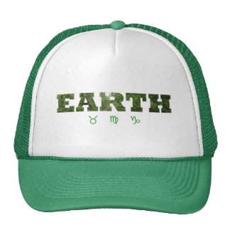Earth with Zodiac Signs Trucker Hat