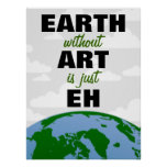 EARTH without ART Poster