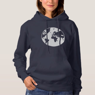 Earth / Women's Basic Hooded Sweatshirt