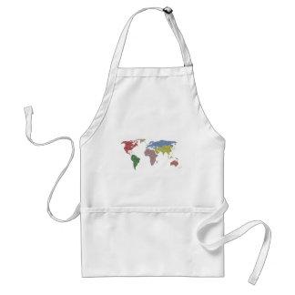 earth world cloth adult apron