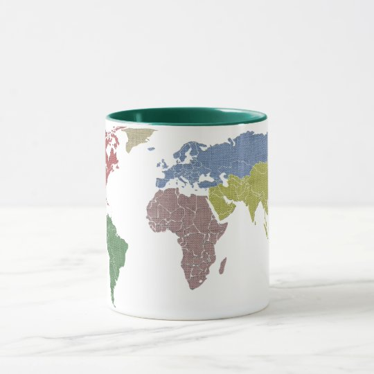 earth world cloth mug