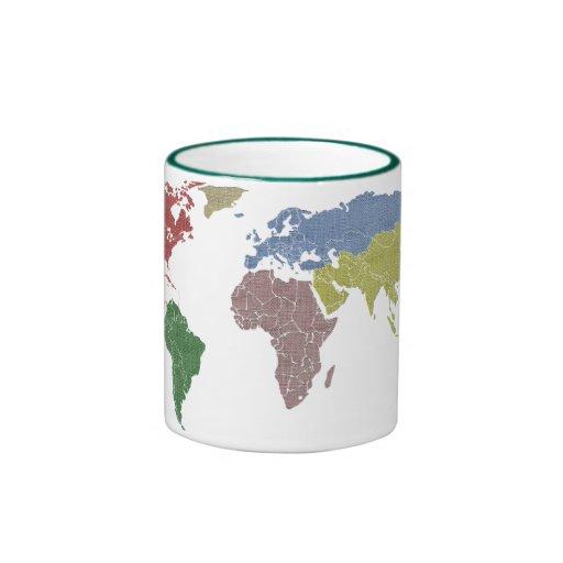 earth world cloth mug