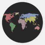 earth world cloth stickers