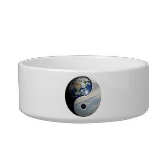Earth Yin and Yang Symbol Bowl