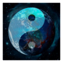 Earth Yin Yang Poster (<em>$25.45</em>)