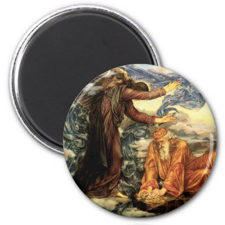 Earthbound by Evelyn De Morgan 2 Inch Round Magnet