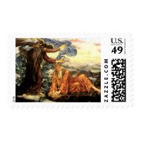 Earthbound by Evelyn De Morgan Stamps