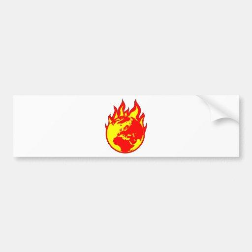 EarthBurn Bumper Sticker