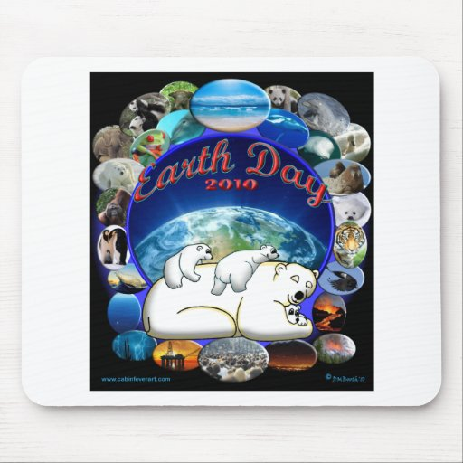 EARTHDAY 2010 MOUSE PAD
