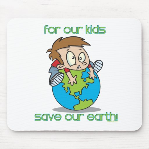 EarthDay-8 Mouse Pads