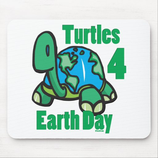 EarthDay-9b Mouse Pads