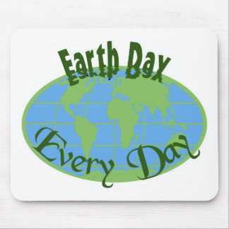 EarthDay-9d Mouse Pad