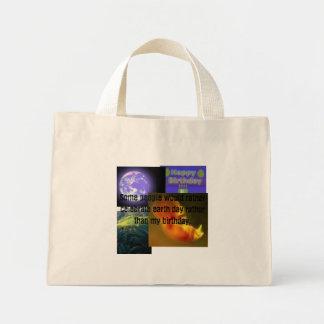 earthday, birthday, prolife tote bag