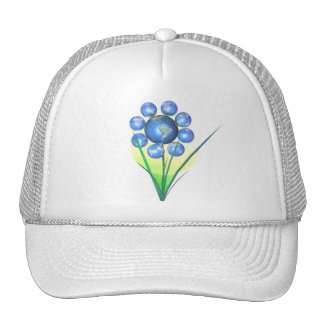 Earthday Flower Trucker Hat