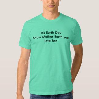 Earthday Shirt April 22 2010