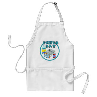 Earthday Shirts and Gifts Adult Apron