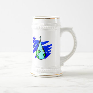 Earthday Shirts and Gifts Beer Stein