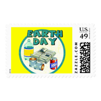 Earthday Shirts and Gifts Postage Stamps