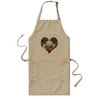 Earthday T Shirts and Gifts Long Apron