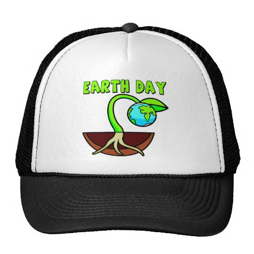 Earthday T Shirts and Gifts Mesh Hats