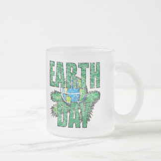 Earthday T Shirts and Gifts 10 Oz Frosted Glass Coffee Mug