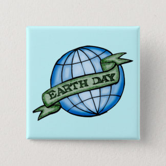 Earthday T Shirts and Gifts Pinback Button