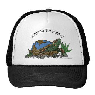 earthday turtle trucker hat