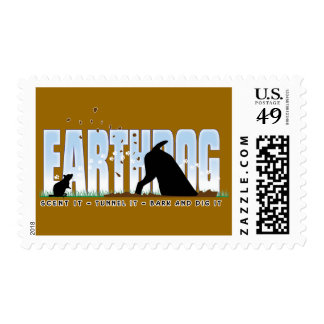 Earthdog Color design for Parson and Jack Russell Stamp