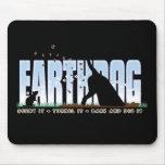 Earthdog color design mouse mats